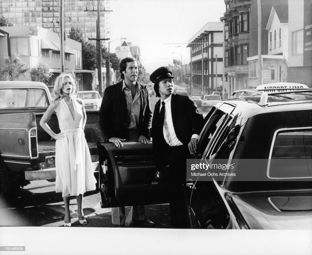Goldie Hawn And Chevy Chase In 'Foul Play' : News Photo