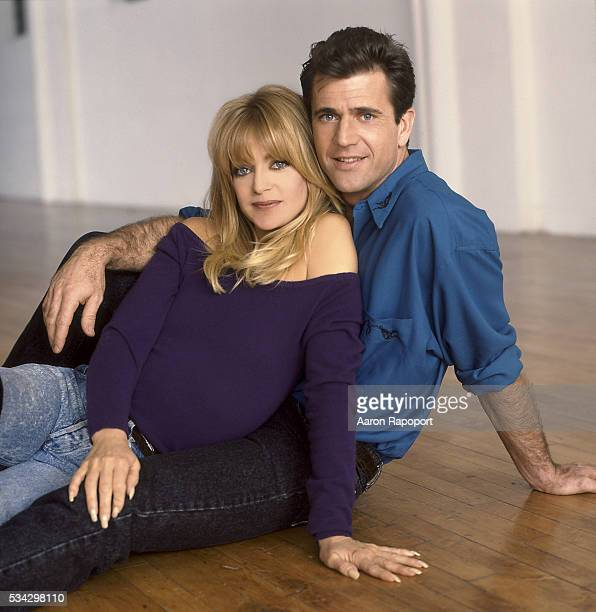 Goldie Hawn and Mel Gibson