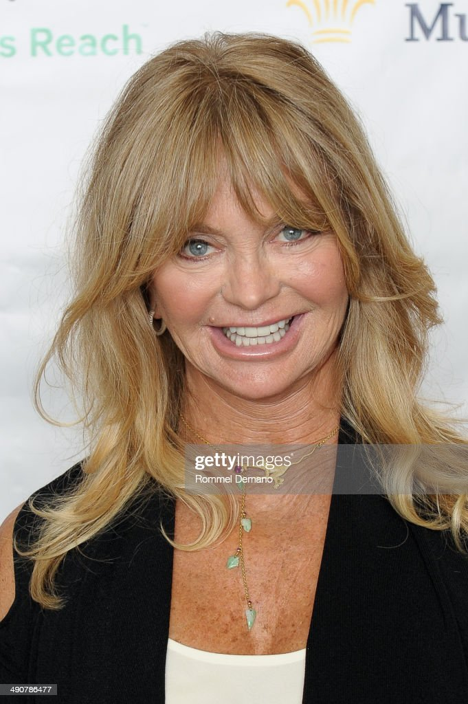 Goldie Hawn attends Forbes Women's Summit:The Entrepreneurship of Everything at 583 Park Avenue on May 15, 2014 in New York City.