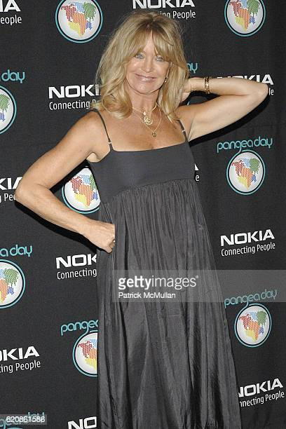 Goldie Hawn attends Pangea Day at Sony Studios at Sony Studios on May 10 2008 in Culver City CA