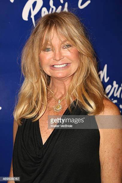 Goldie Hawn attends the Broadway Opening Night Performance of 'An American in Paris' at The Palace Theatre on April 12 2015 in New York City