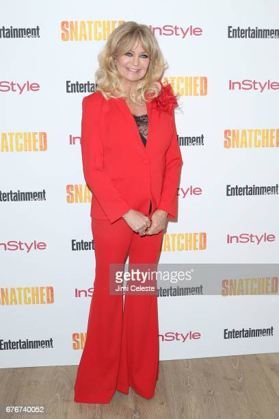 Goldie Hawn attends the New York premiere of 'Snatched' at the Whitby Hotel on May 2 2017 in New York City