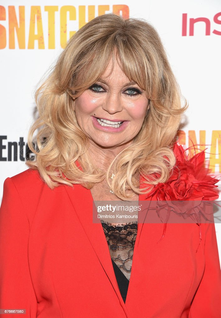 Goldie Hawn attends the 'Snatched' New York Premiere at the Whitby Hotel on May 2, 2017 in New York City.