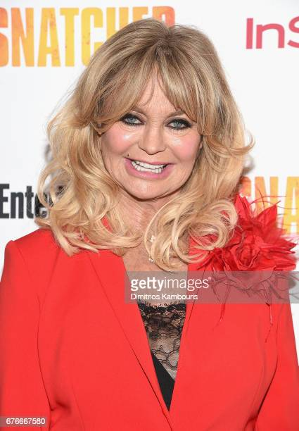 Goldie Hawn attends the Snatched New York Premiere at the Whitby Hotel on May 2 2017 in New York City
