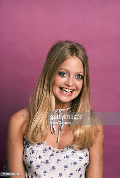 Goldie Hawn in Floral Sundress