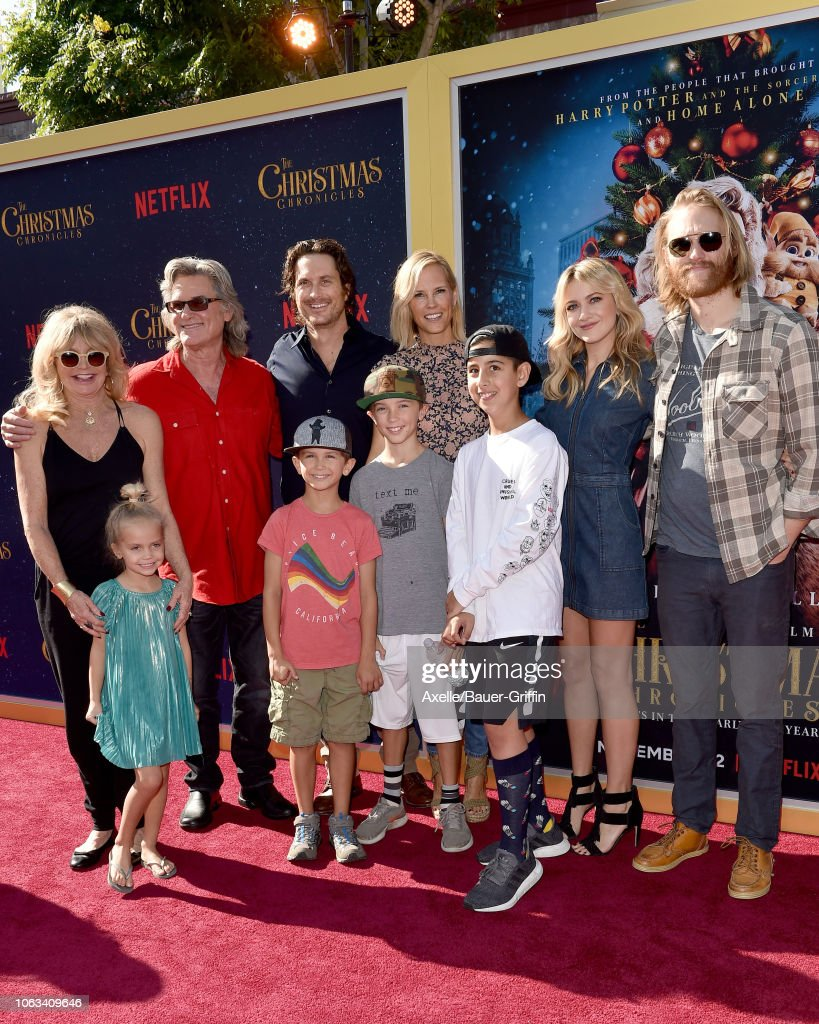 """Premiere Of Netflix's """"The Christmas Chronicles"""" - Arrivals : News Photo"""