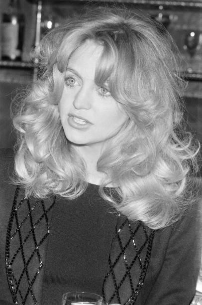 Goldie Hawn Paris En 1980 Pictures