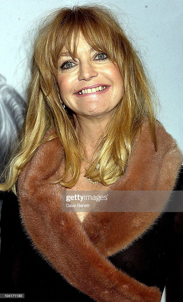 Goldie Hawn, 'The Banger Sisters' Movie Premiere Held At The Warner West End, Then The Party At Jewel In Picadilly, London