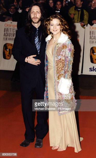 Goldie Hawn's daughter actress Kate Hudson with her husband singer Chris Robinson of rock group the Black Crowes attending The Orange British Academy...