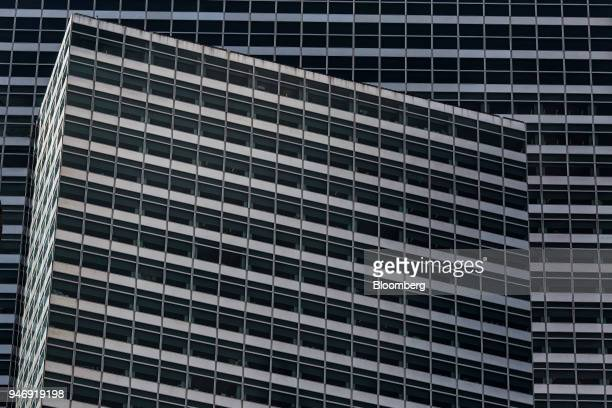 Goldman Sachs Group Inc headquarters stands in New York US on Thursday April 12 2018 Goldman Sachs Group Inc is scheduled to release earnings figures...