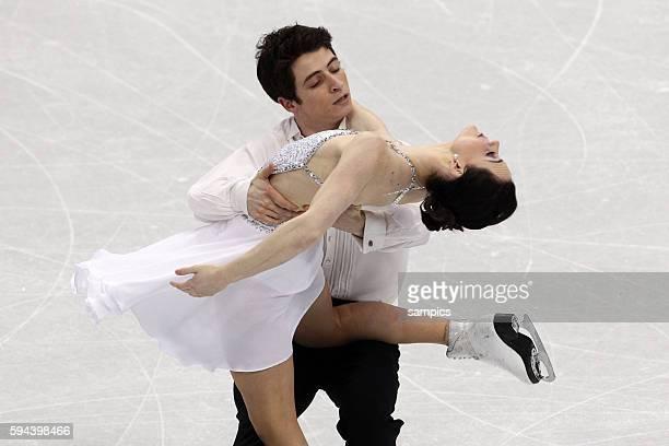 Goldmedaillengewinner Tessa Virtue und Scott Moir Olympische Winterspiele 2010 in Vancouver Eiskunstlauf Eistanz Kur Olympic Winter Games 2010 Figure...