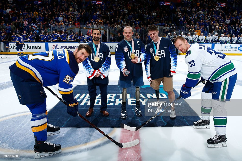 Vancouver Canucks v St Louis Blues