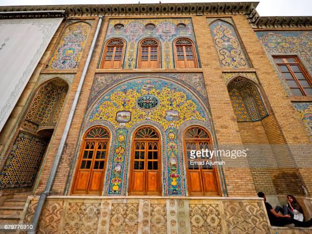 Golestan Palace in Tehran, Iran - April 25, 2017