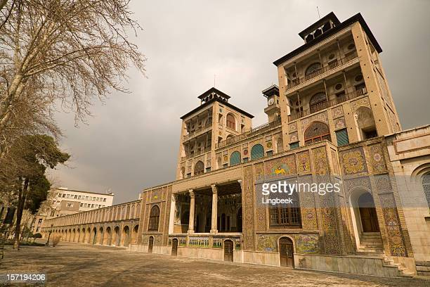 golestan palace, tehran, iran - tehran stock pictures, royalty-free photos & images