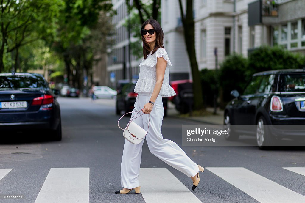Street Style In Cologne - June, 2016 : News Photo