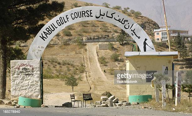 golf 10/04/06 KABUL AFGHANISTAN The Kabul Golf Course has existed for decades but war and poverty have taken their toll on the landscape Trees all...