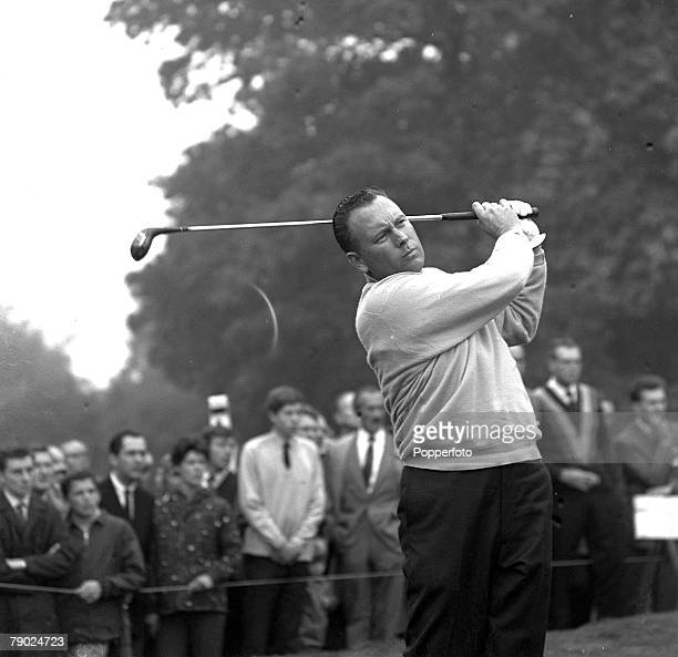 Golf 1966 World Match Play at Wentworth A picture of Billy Casper of the USA playing a shot