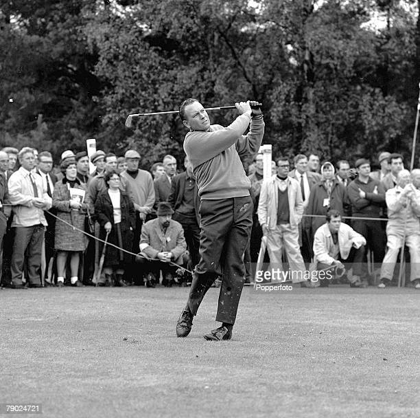 Golf 1967 World Match Play at Wentworth A picture of Billy Casper of the USA playing a shot