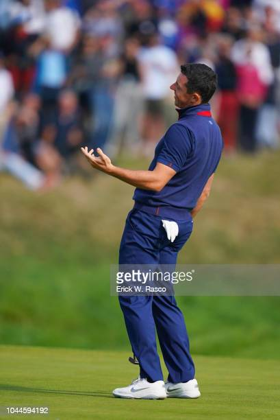 2018 Ryder Cup Team Europe Rory McIlroy during Friday Foursomes play at Le Golf National Paris France 9/28/2018 CREDIT Erick W Rasco