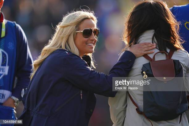 2018 Ryder Cup Team USA Phil Mickelson's wife Amy during Friday Foursomes play at Le Golf National Paris France 9/28/2018 CREDIT Erick W Rasco