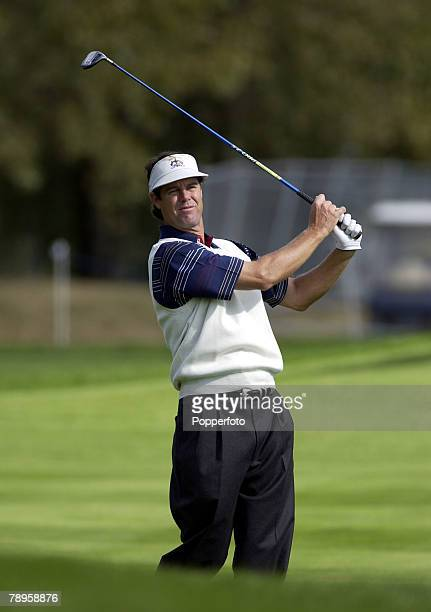 Golf, 34th Ryder Cup Matches, The Belfry, England, 24th September 2002, Europe 15 1/2 beat USA 12 1/2, USA's Paul Azinger