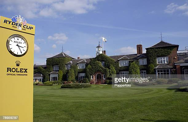 Golf 34th Ryder Cup Matches The Belfry England 26th September 2002 Europe 15 1/2 beat USA 12 1/2 A general view of the Belfry clubhouse