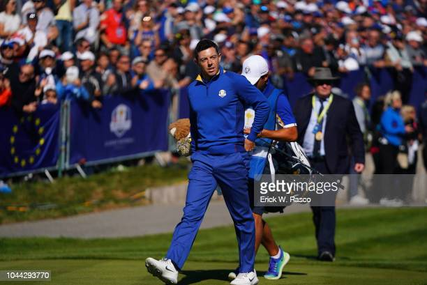 42nd Ryder Cup Team Europe Rory McIlroy during Sunday Singles at Le Golf National Paris France 9/30/2018 CREDIT Erick W Rasco