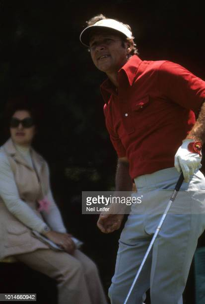 73rd US Open Arnold Palmer watches his shot during Friday play at Oakmont Country Club Oakmont PA CREDIT Neil Leifer