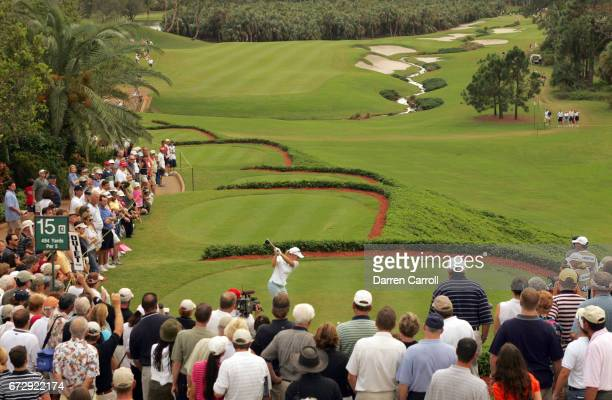ADT Championship View of Annika Sorenstam in action during Sunday play at Trump International GC West Palm Beach FL CREDIT Darren Carroll