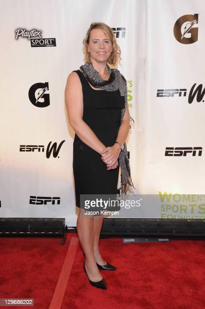Golf Annika Sorenstam attends the 32nd Annual Salute To Women In Sports Gala at Cipriani Wall Street on October 19 2011 in New York City