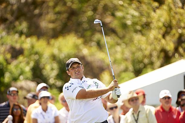 Patrick Reed in action on Thursday at Bay Hill Club & Lodge. Fred Vuich TK1