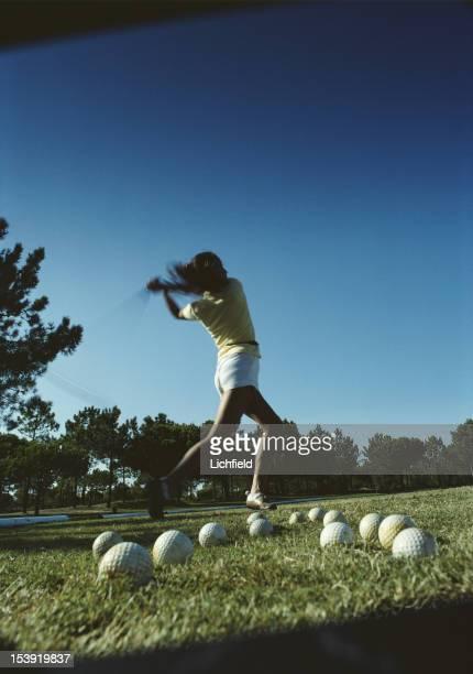 Golf at Quinta do Lago in the Algarve, Portugal, October 1982.