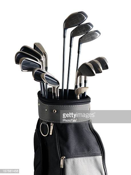 Golf-Bag und Clubs – XL
