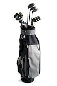 Golf Bag and Clubs - XXXLarge