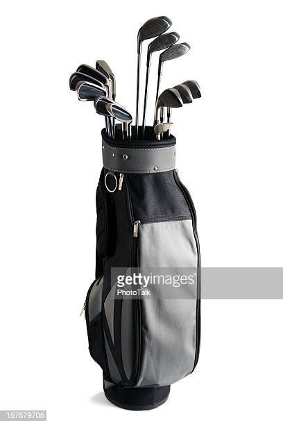 Golf-Bag und Clubs – XXXL