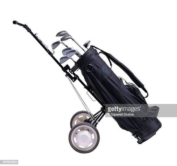 Golf Bag and Golf Cart
