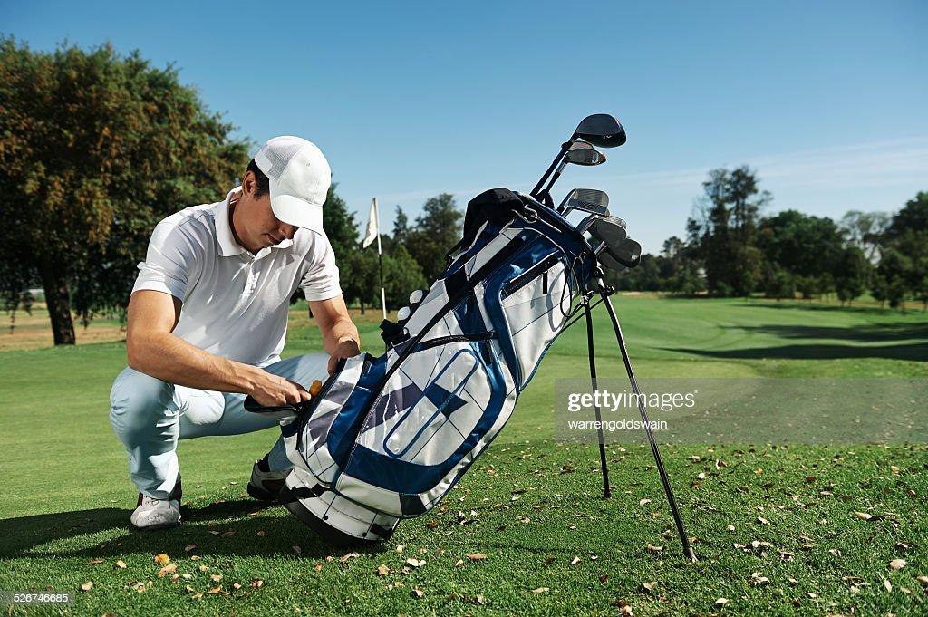 ゴルフ部出身者に多いスタンド型