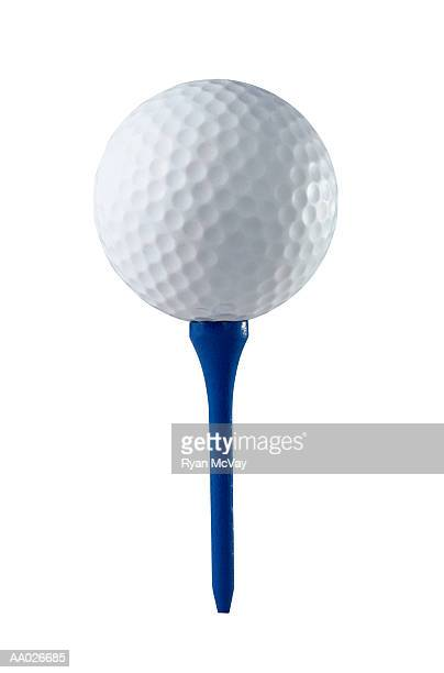 Golf Ball and a Tee