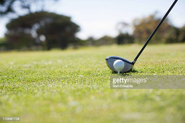 golf ball and golf club - sam's club stock pictures, royalty-free photos & images