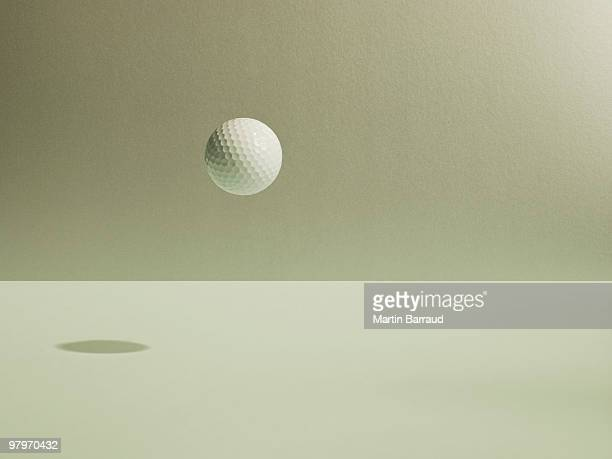 Golf ball floating