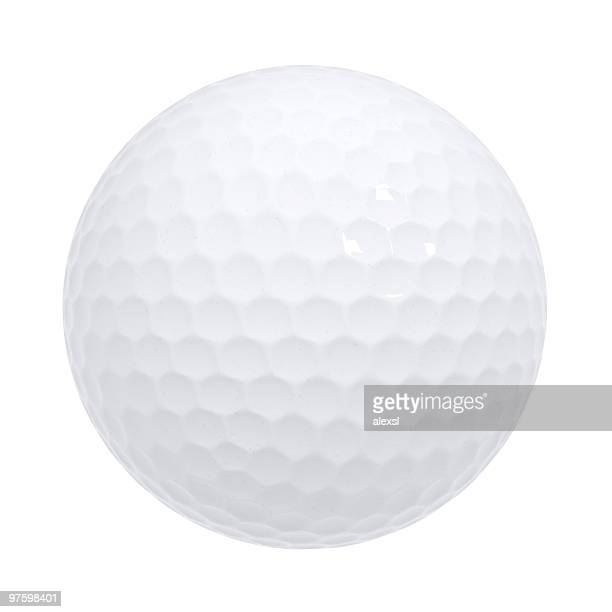 golf ball isolated - golf ball stock pictures, royalty-free photos & images