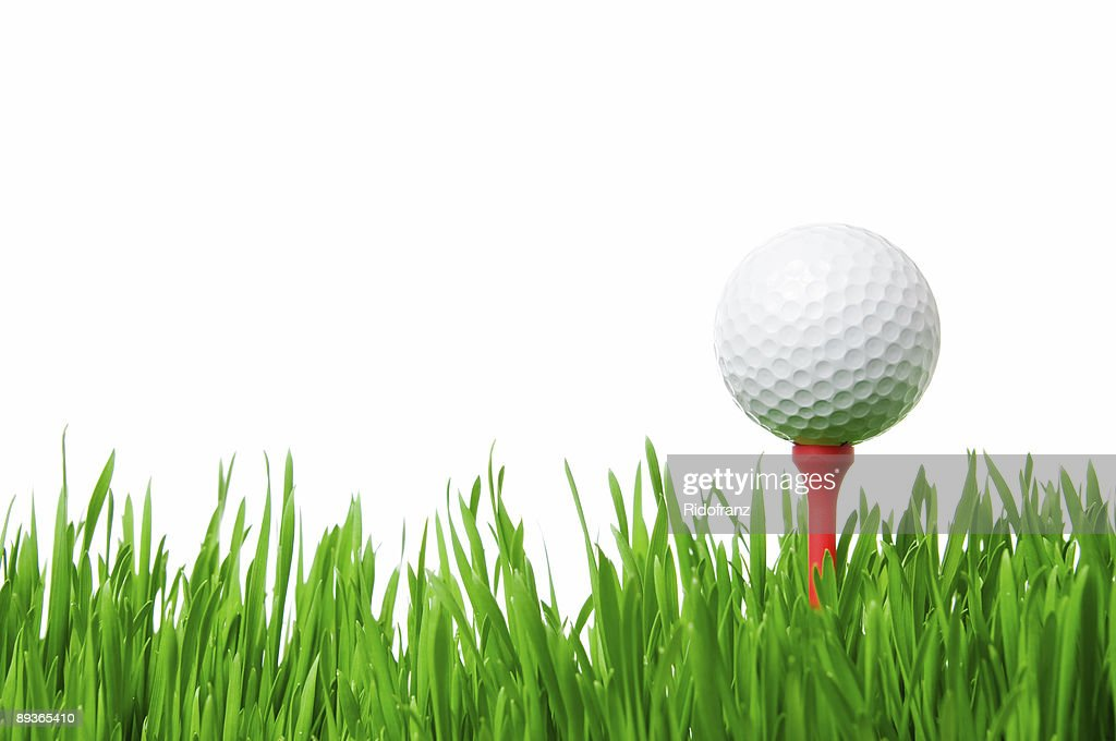 Free golf ball isolated Images and Stock Photos ... Golf Ball On Tee Clipart
