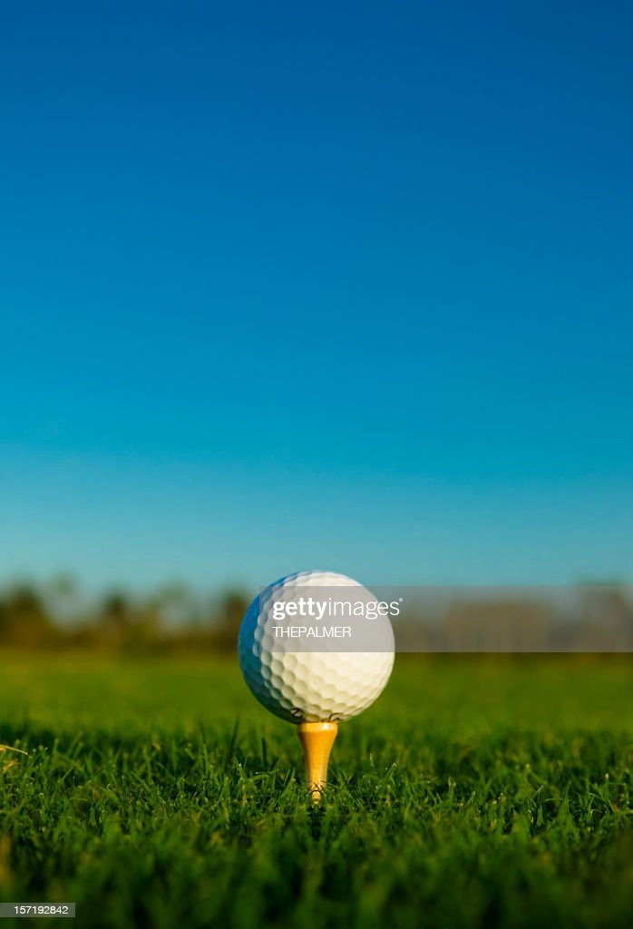 golf ball : Stock Photo