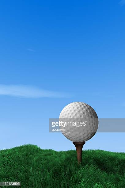 golf ball - golf background stock photos and pictures