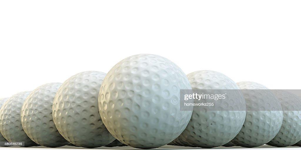 golf balls : Stockfoto