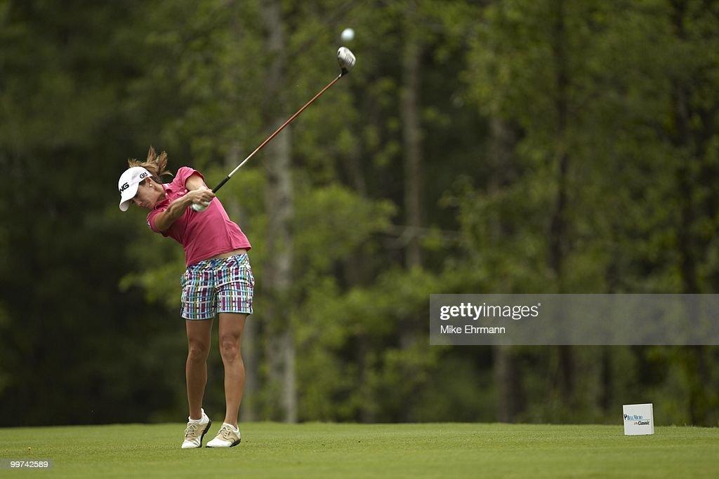 Azahara Munoz in action on Sunday at Robert Trent Jones Golf Trail at Magnolia Grove. Mobile, AL 5/16/2010