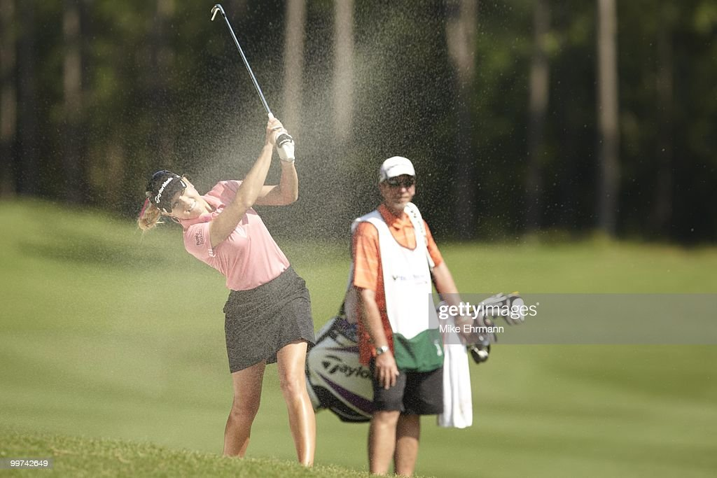 Natalie Gulbis in action on Friday at Robert Trent Jones Golf Trail at Magnolia Grove. Mobile, AL 5/14/2010