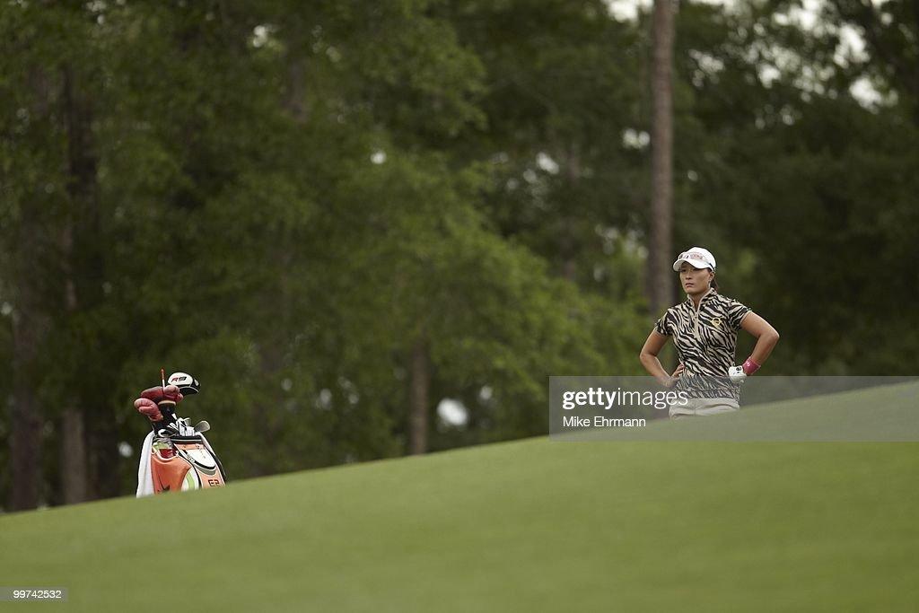 Se Ri Pak on No 7 fairway during Saturday play at Robert Trent Jones Golf Trail at Magnolia Grove. Mobile, AL 5/15/2010