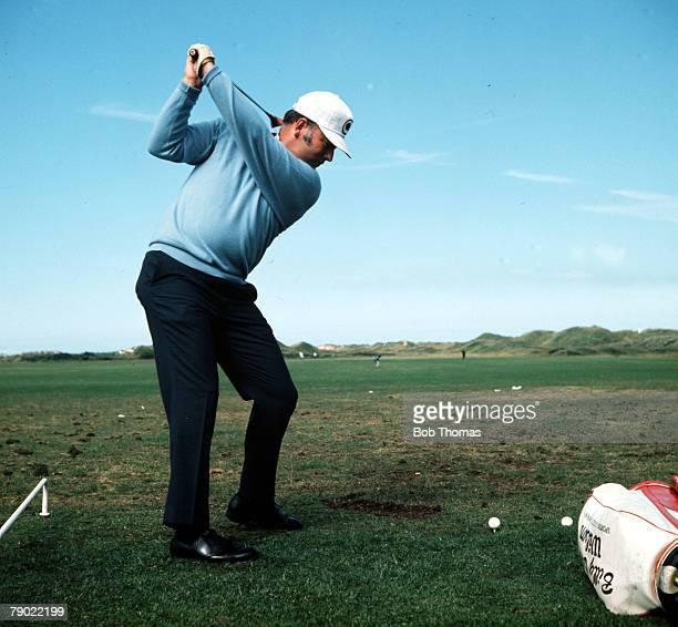 Golf Billy Casper USA Circa 1970's