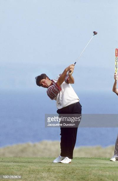Fred Couples in action during Sunday play at Muirfield Golf Links. Gullane, Scotland 7/19/1992 CREDIT: Jacqueline Duvoisin